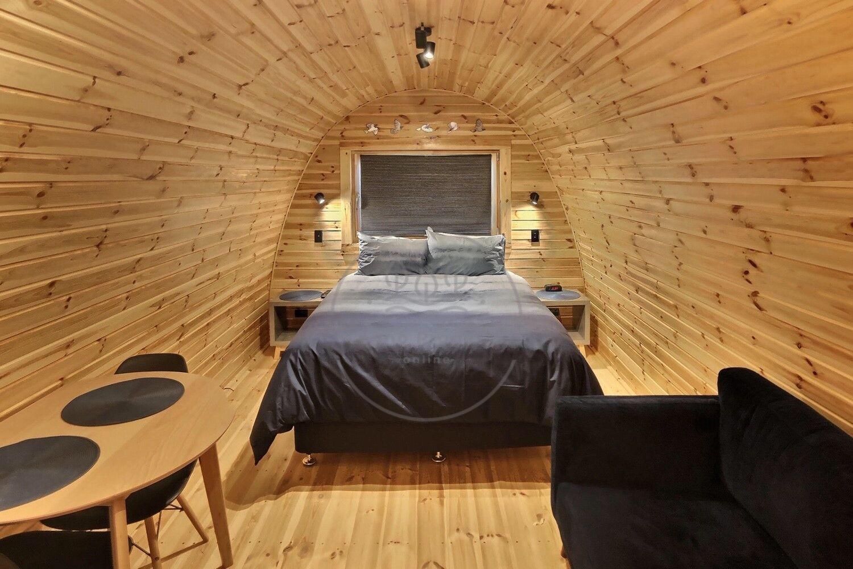 Bungalow POD casetta in legno Igloo per campeggio