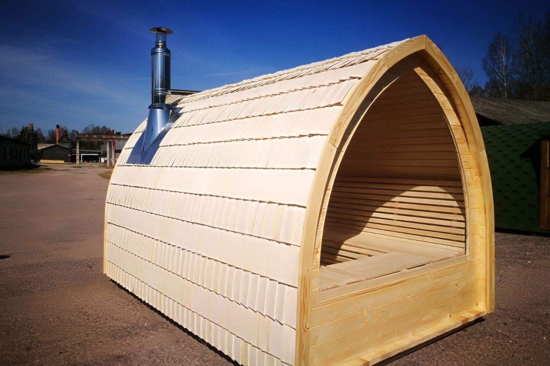 Asticelle in legno copertura per il tetto della sauna