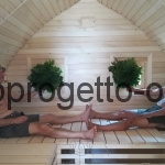 Saune da esterno finlandese