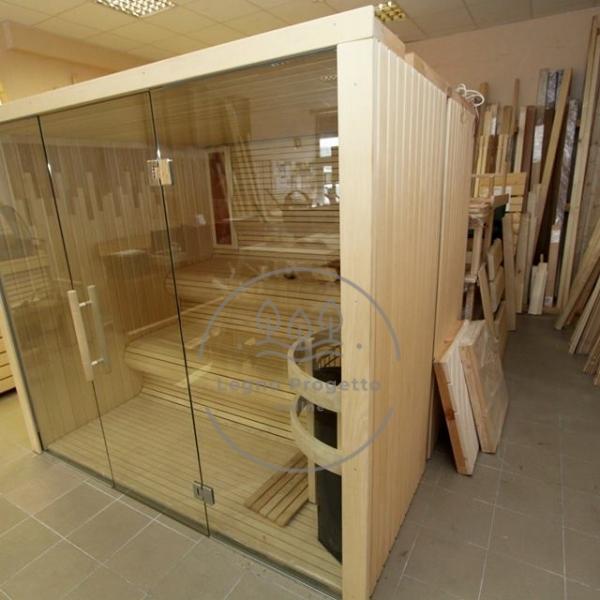 sauna da interni di qaulità
