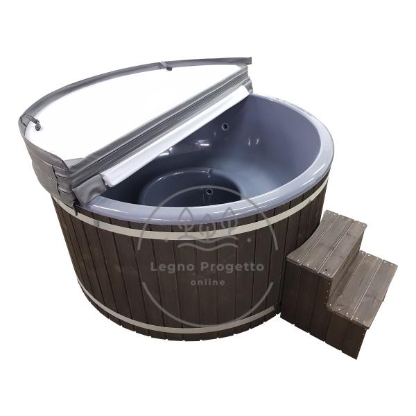 Vasca da bagno all'aperto per bagni caldi