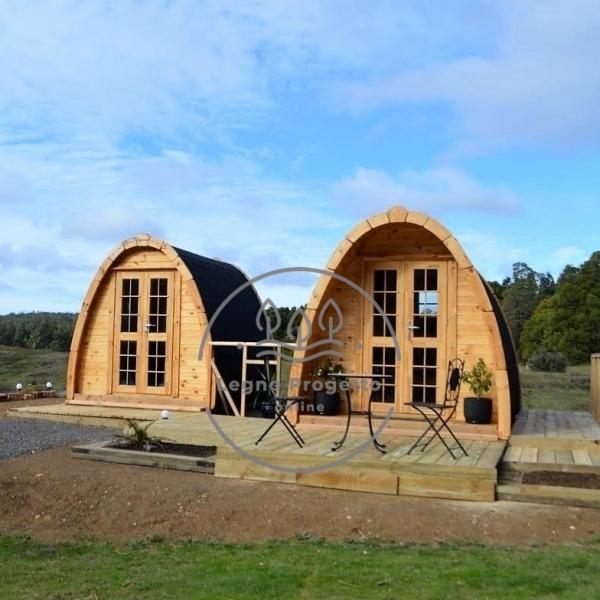 Pod bungalow casetta in legno
