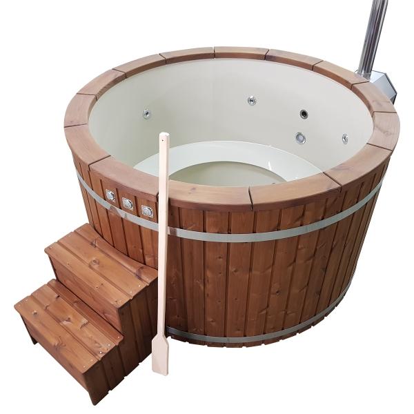 vasca idromassaggio da esterno Tinozza spa vasca riscaldabile in polipropilene