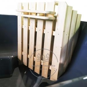 Idromassaggio da esterno Tinozza in legno riscaldabile