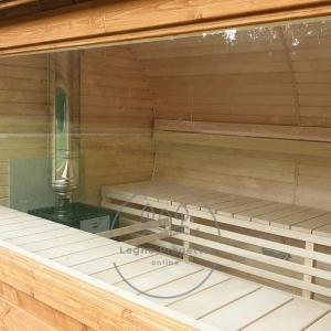 Stufa a legna per la sauna
