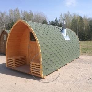 Sauna Igloo in giardino all'aperto