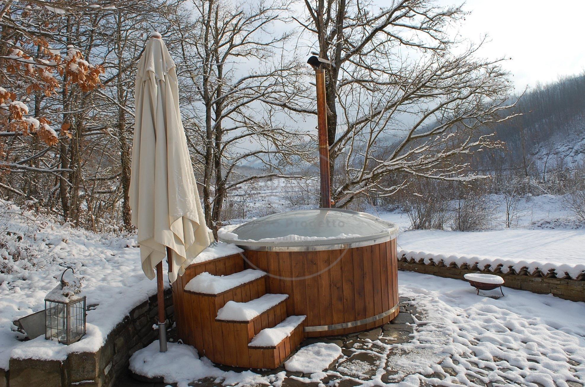 Uso e manutenzione vasca in legno con stufa a legna Importante a sapere
