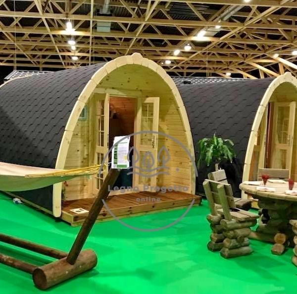 POD casetta in legno bungalow