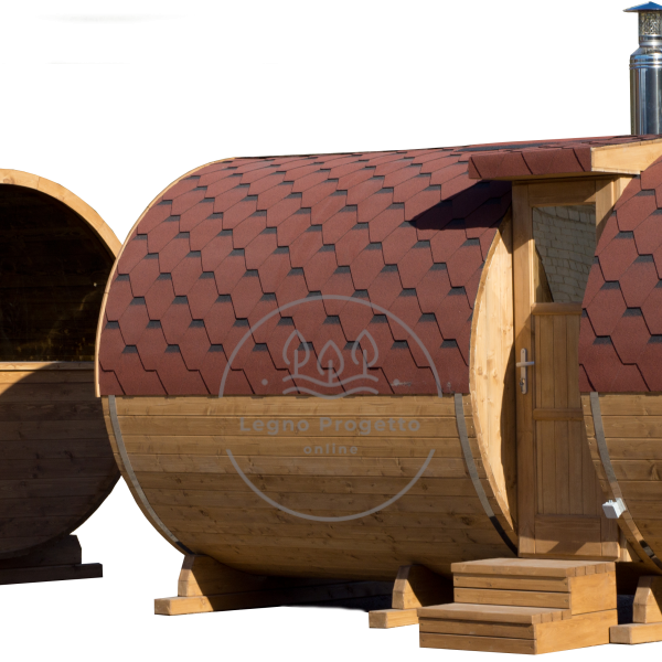 Sauna a botte Baratolo da esterno Sauna finlandese