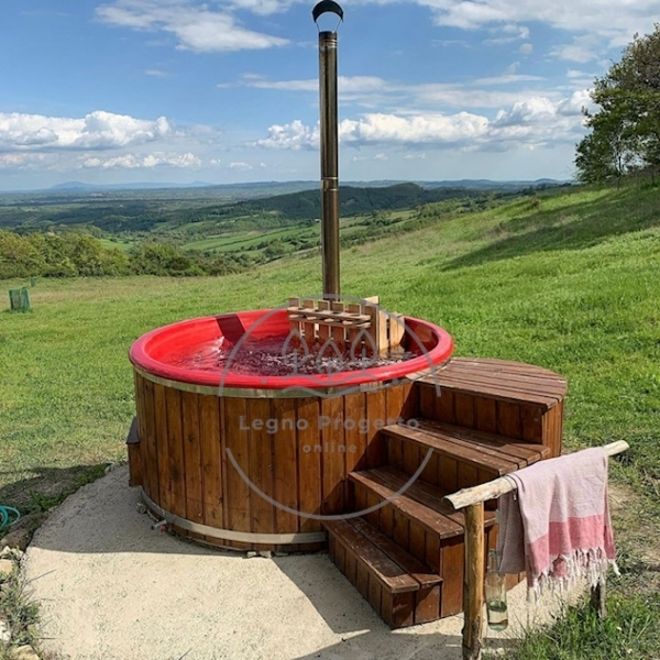 Spa tinozza hot Tub riscaldabile
