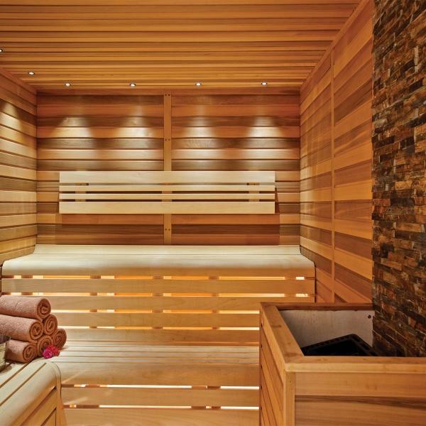 sauna da interni produzione su misura