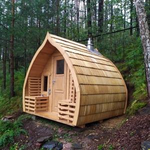 Sauna da esterno Igloo all'aperto