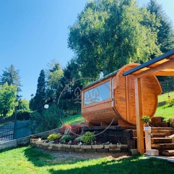 Recensione legno progetto online sauna da esterno
