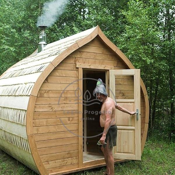 Sauna Premium 3.50 m Finlandese con HARVIA M3 SL stufa a legna