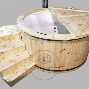 Spa tinozza vasca idromassaggio per esterno bagni caldi