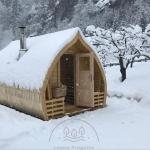 sauna da esterno saune