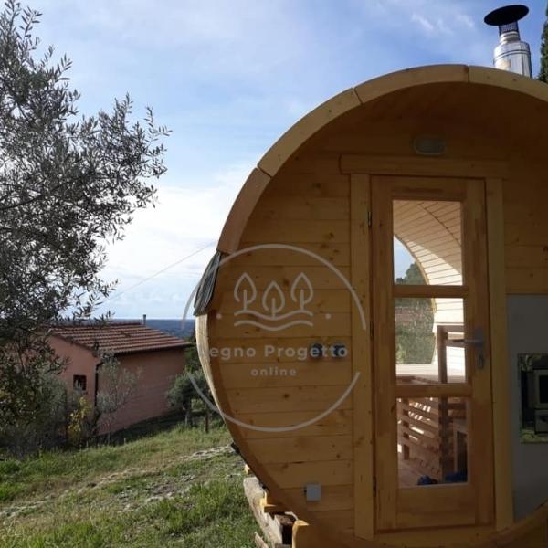 Recensione sauna botte acquisto online