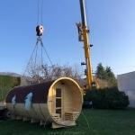 Sauna botte all'aperto i