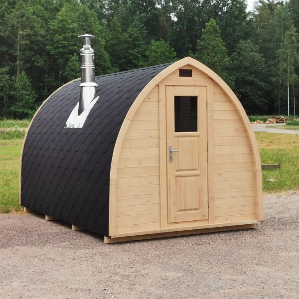 Sauna finlandese da esterni