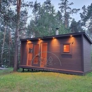 sauna moderna da eterno